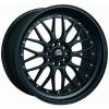 XXR Wheels - 521 Black Wheel with Chrome Rivets