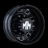 Mayhem - BIGRIG REAR BLACK/MILLED SPOKES