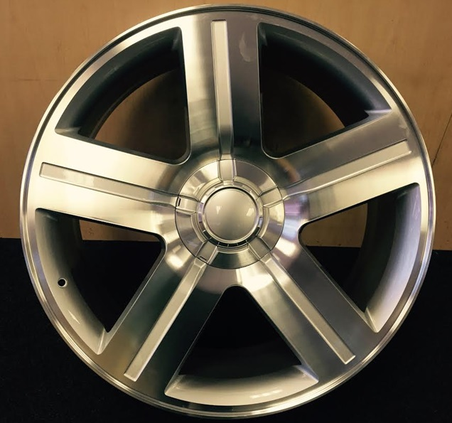OEM Replicas - Chevy Texas Edition Silver Machined