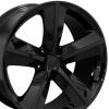 OEM Replicas - Dodge Challenger SRT Black