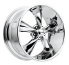 FOOSE 1PC - LEGEND CHROME PLATED